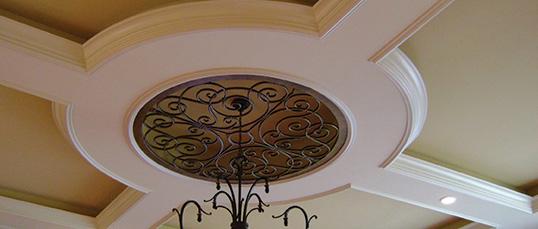 MRD custom millwork moulding ceiling