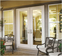 REEB Neuma Hinged Gliding Patio Door BackPatioOneA